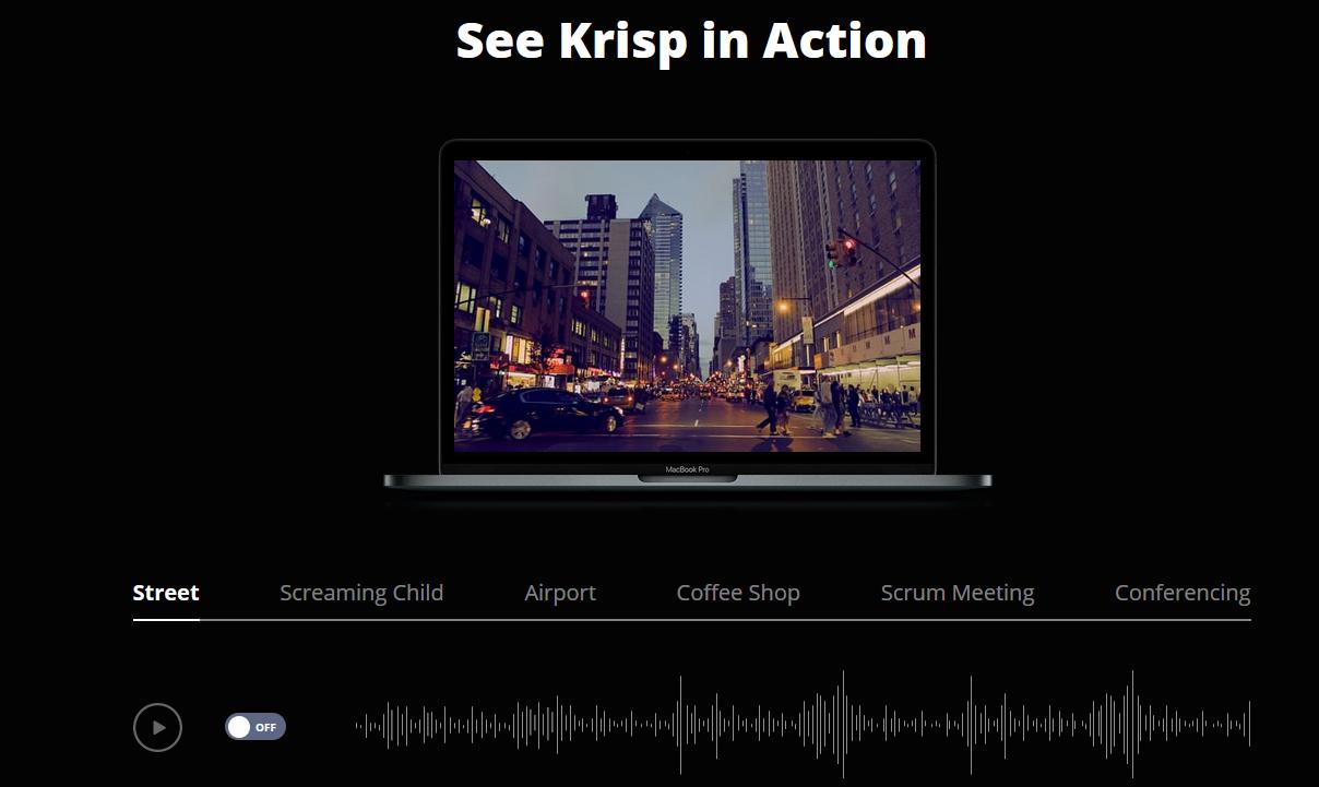krisp inaction